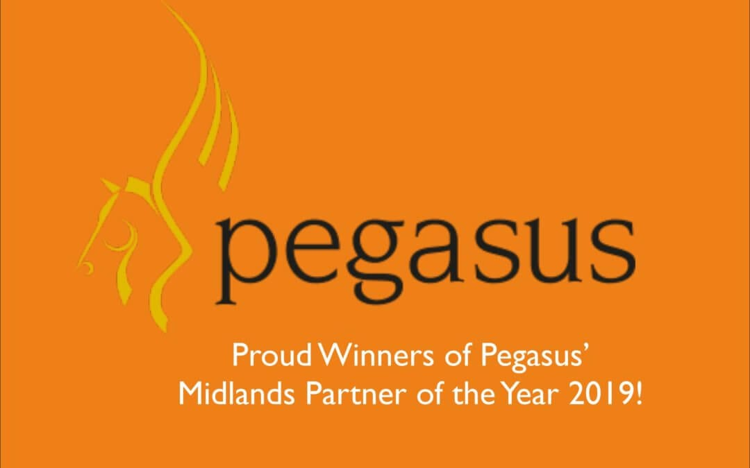 Pegasus Software Partner of the Year 2019!